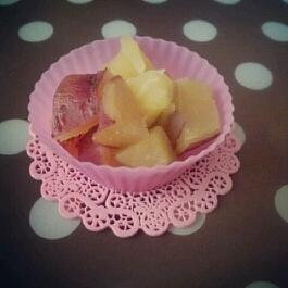 甘いけど甘さ控えめで幼児食に☆サツマイモの甘露煮