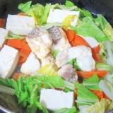 真鯛ですき焼き風簡単煮