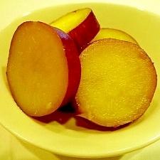 ♪♪甘くてホクホク~★サツマイモのハチミツ煮♪♪