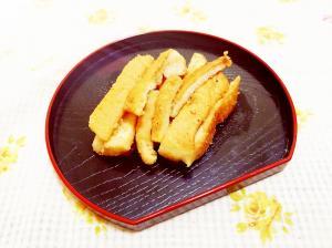 豆乳黄粉風味♪ふんわりパンの耳スティック