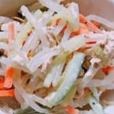 シャキシャキ野菜のツナマヨサラダ