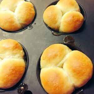 簡単メープルパン