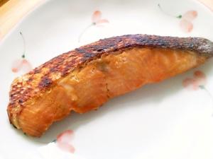 美味~☆ 鮭の最強!!味噌ダレ焼き~♪