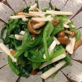 小松菜のネバネバ和え
