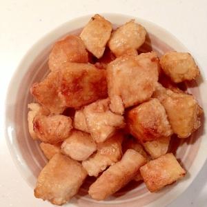 冷凍豆腐の甘辛ステーキ