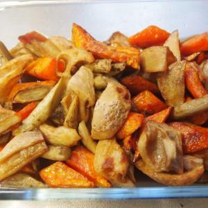 野菜の素朴なおいしさ。根菜の揚げ漬け