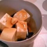 簡単・ほっこり!豆腐のあんかけ