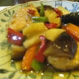 干ししいたけ 鮭 根菜類の甘酢づけ