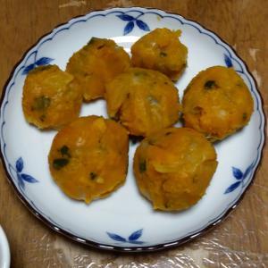 かぼちゃ粉チーズ