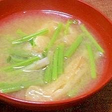 山菜*ミズの お味噌汁
