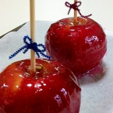 お祭りのリンゴ飴