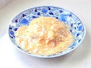 卵とじあんかけ炒飯