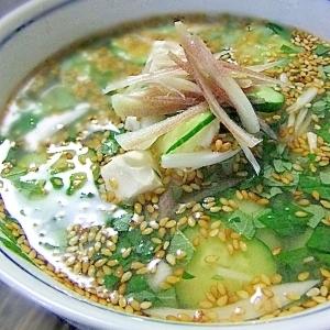 相性の良い主食別「冷汁」レシピ