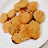 魚焼きグリルでたまごクッキー