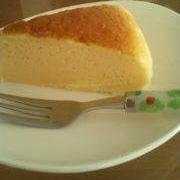 しっとり♪スフレチーズケーキ