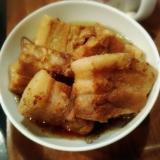 炊飯器レシピ★豚バラ塊肉の甘辛にんにく醤油煮