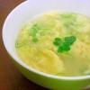 カイワレ大根と卵のスープ