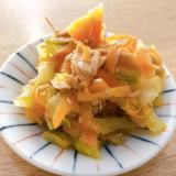 冷蔵庫によくいる野菜たちの和え物