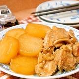 ほめられレシピ☆出汁なしで鶏肉と大根のうまうま煮物