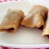 関東風黒糖のさくら餅