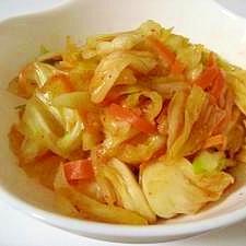 ●豆板醤入り●キャベツのピリ辛酢浅漬け