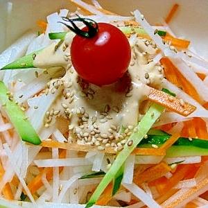 大根と人参のサラダ