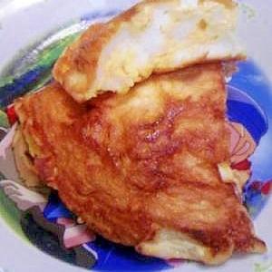 簡単!ふんわりカリカリ藩屏入り卵焼き