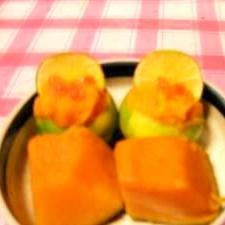 かぼちゃ酢橘風味