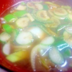 リメイク海老殻で味噌汁