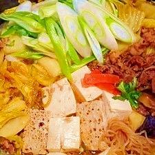 味付き焼き肉用牛肉☆すき焼き