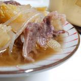 ご飯に合う♪牛肉と白菜煮込み*