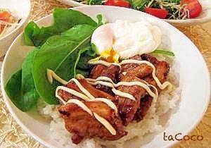 短時間!お腹いっぱい♡豚バラ丼