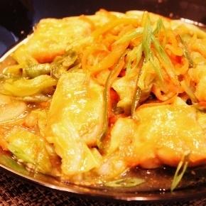 *☆鶏むね肉と野菜いっぱいニンニク味噌マヨ炒め☆*