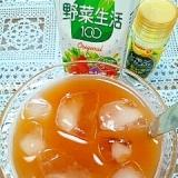 アイス☆ベジタフルーツ麦茶♪