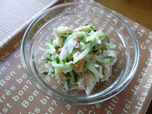 切り干し大根・きゅうり・サラダフレークのマヨサラダ