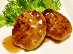 おからと鶏ひき肉のヘルシーハンバーグ