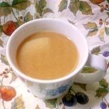 陽気な気分で❤酒粕ラム酒入りコーヒー♪