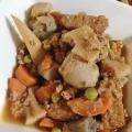肉じゃが風に❤里芋の煮物♪(合挽き肉ほか)