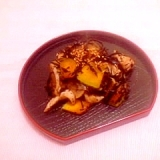 かぼちゃと大根のひじき炒め