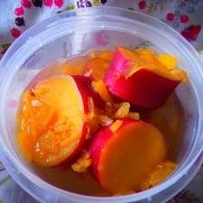 柚子ジャムを使って煮るだけ簡単さつまいも煮