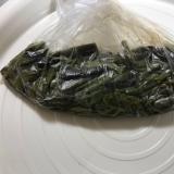 レンジでワラビの煮物