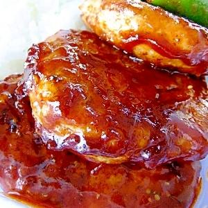 少量お肉でふんわり&ボリューム「豆腐バーグ」