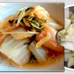 簡単・美味しい*白菜と麩の煮物*