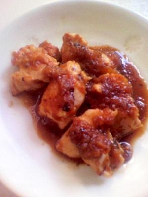 鶏肉のアップルソース☆
