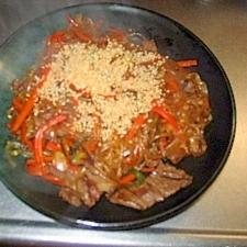 焼き肉のタレを使ったチャプチェ