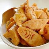 ピリ辛でおいしい竹の子の豆板醤炒め