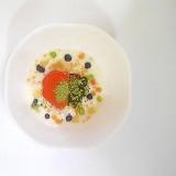 柿、ブルーベリー、ドライフルーツのヨーグルト 1