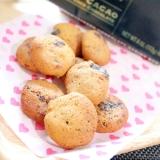 糖質オフ★低糖HMで簡単カントリーマアム風クッキー