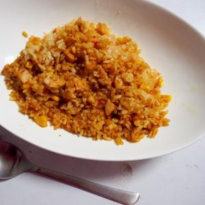 カレールウで炊き込みカレーご飯