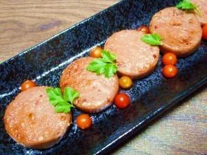お魚ハンバーグ☆粕漬け